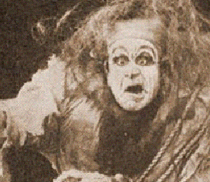Still From 1910 Frankenstein Silent Film