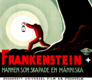 Swedish Poster for 1935 Universal Film
